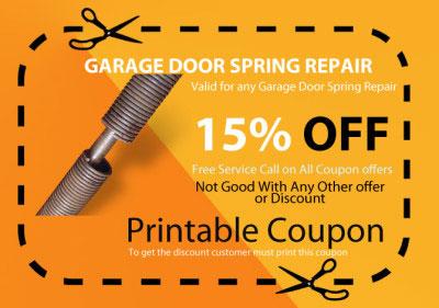 springs replacement for garage door
